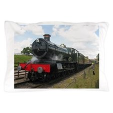 Railway gifts, steam train Pillow Case
