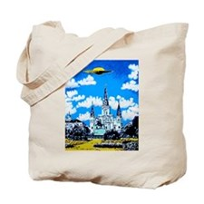 New Orleans is UFO Country #2 Tote Bag