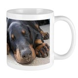 Dobermann Small Mugs (11 oz)