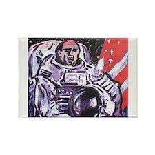 Astronaut Rectangle Magnet