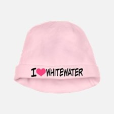 I Heart Whitewater baby hat