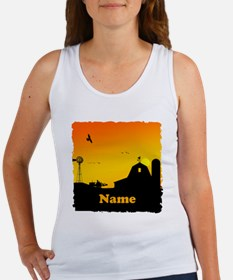 Sunrise at the Farm Women's Tank Top