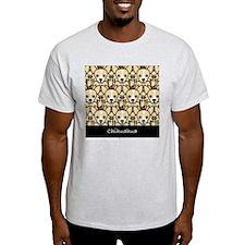 Long-Haired Chihuahua Ash Grey T-Shirt