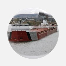 Roger Blough departs Duluth Ornament (Round)