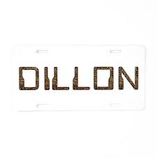 Dillon Circuit Aluminum License Plate