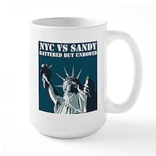 Hurricane Sandy Vs New York City Mug