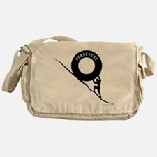 Sisyphus and his perseverence Messenger Bag