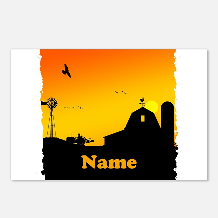 Sunrise at the Farm Postcards (Package of 8)