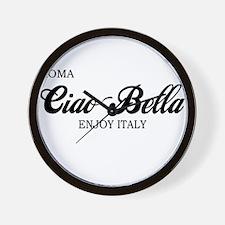 Ciao Bella ROMA Wall Clock