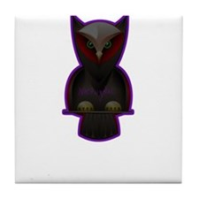 purple owl is nocturnal in woods creepy witch paga