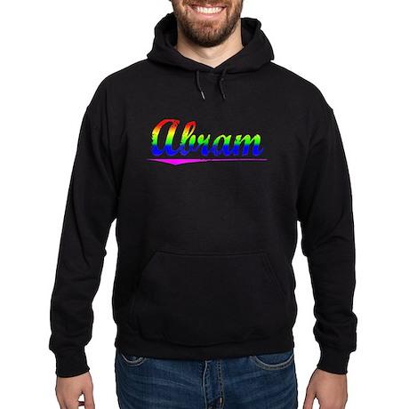 Abram, Rainbow, Hoodie (dark)
