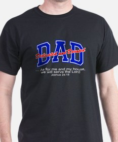 Dedicted Devoted Christian Fathers Day T-Shirt