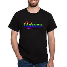 Adams, Rainbow, T-Shirt