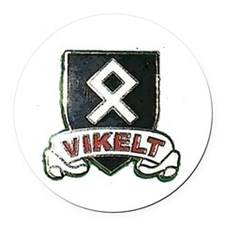 vikelt shield 2 Round Car Magnet