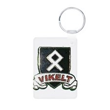 vikelt shield 2 Keychains
