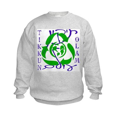 Tikkun Olam Recycle Kids Sweatshirt