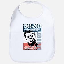 Kennedy Assassination 50 Year Anniversary Bib