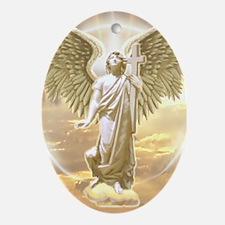 Archangel Gabriel Ornament (Oval)
