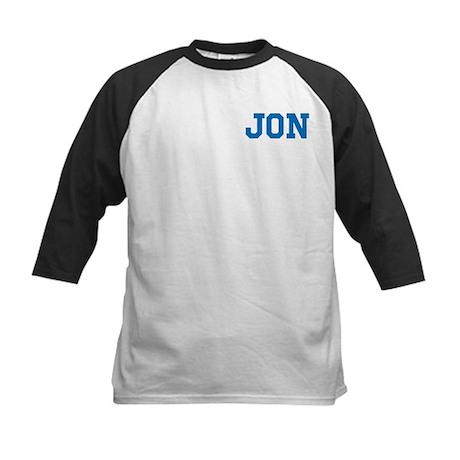Jon centered Kids Baseball Jersey