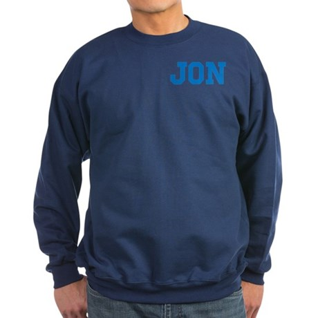 Jon centered Sweatshirt (dark)