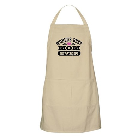 World's Best Mom Ever Apron