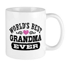 World's Best Grandma Ever Small Mugs