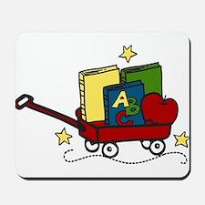 Book Wagon Mousepad