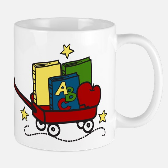 Book Wagon Mug