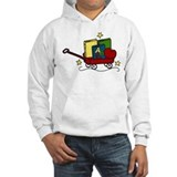 Red wagon Hooded Sweatshirt
