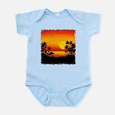 Island Sunset Infant Bodysuit