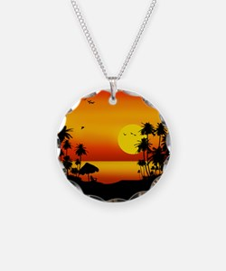 Island Sunset Necklace