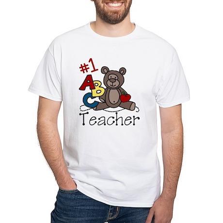 Teacher White T-Shirt