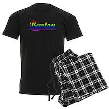 Barton, Rainbow, Pajamas