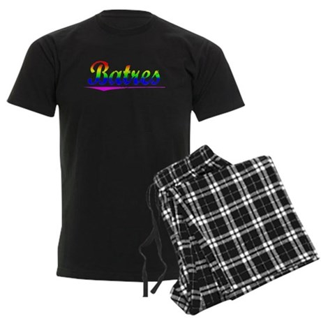 Batres, Rainbow, Men's Dark Pajamas