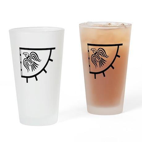 raven banner 2 Drinking Glass
