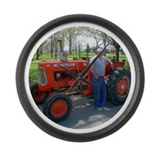 Funny Allis chalmers Large Wall Clock