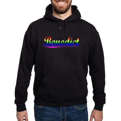Benedict, Rainbow, Hoodie (dark)