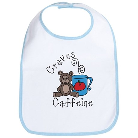 Craves Caffine Bib