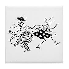 Tile Coaster Jitterbugs