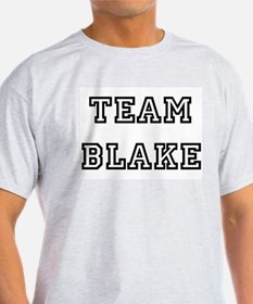TEAM BLAKE Ash Grey T-Shirt