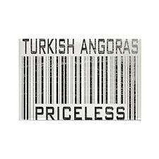 Turkish Angoras Priceless Rectangle Magnet