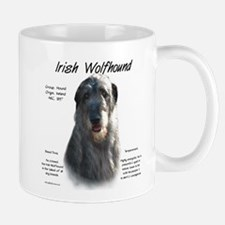 Irish Wolfhound (grey) Small Mug