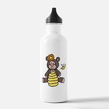 Bee Teddy Bear Water Bottle