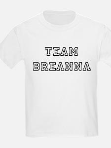 TEAM BREANNA Kids T-Shirt