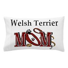 Welsh Terrier Mom Pillow Case
