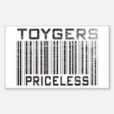 Toygers Priceless Rectangle Decal