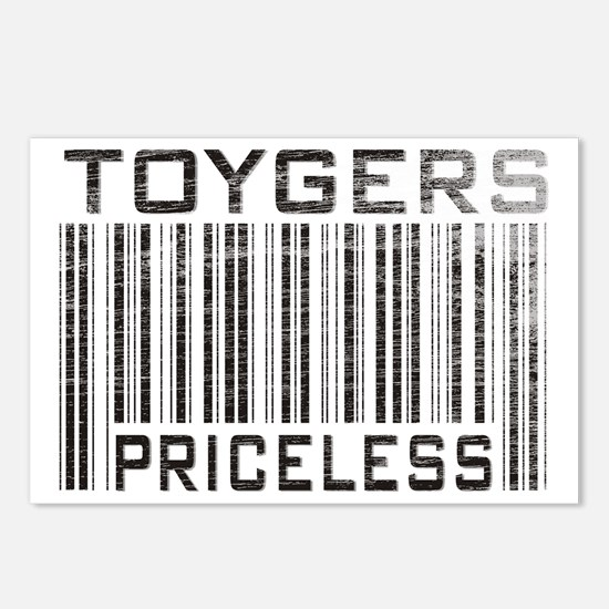 Toygers Priceless Postcards (Package of 8)