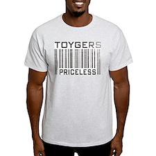 Toygers Priceless Ash Grey T-Shirt