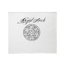 Royal Arch Mason Throw Blanket