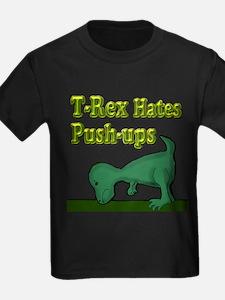 T-Rex hates push-ups T